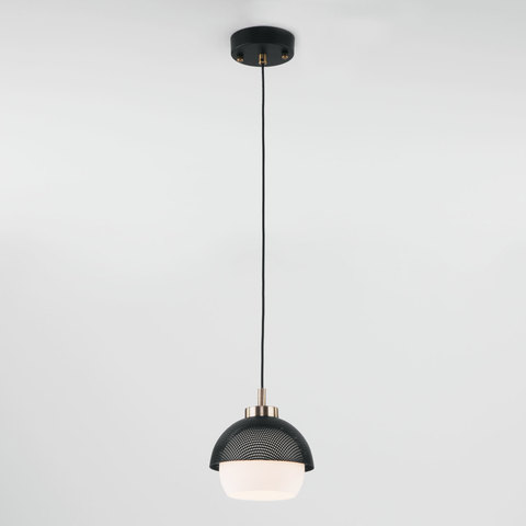 Подвесной светильник 50106/1 античная бронза/черный