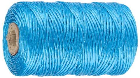 Шпагат ЗУБР многоцелевой полипропиленовый, синий, d=1,8 мм, 60 м, 50 кгс, 1,2 ктекс