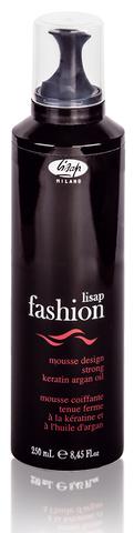 Мусс для укладки волос сильной фиксации «Lisap Fashion Mousse Design Strong»
