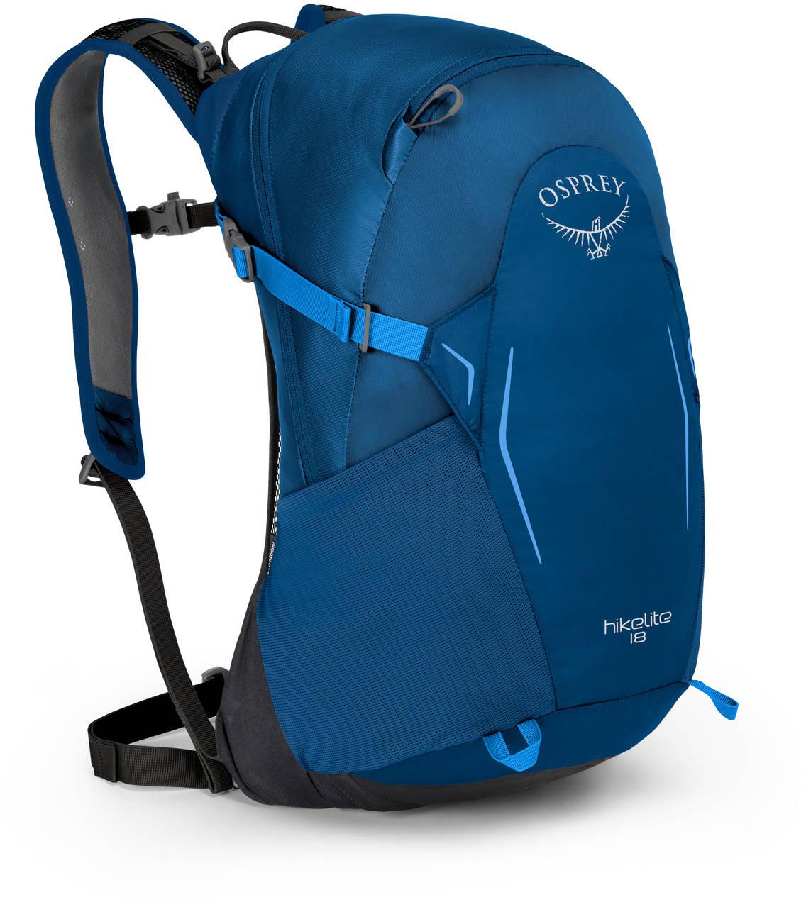Туристические рюкзаки Рюкзак туристический Osprey Hikelite 18 Bacca Blue HIkelite18_S18_Side_BaccaBlue_web.jpg