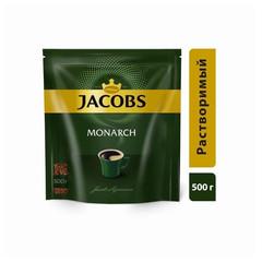 Кофе Jacobs Monarch раств.субл. 500г пакет