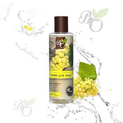 Тоник для лица «Для сухой и чувствительной кожи», Bliss organic 200 мл