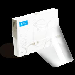 Экран полимерный прозрачный, для защиты глаз и органов дыхания стоматолога
