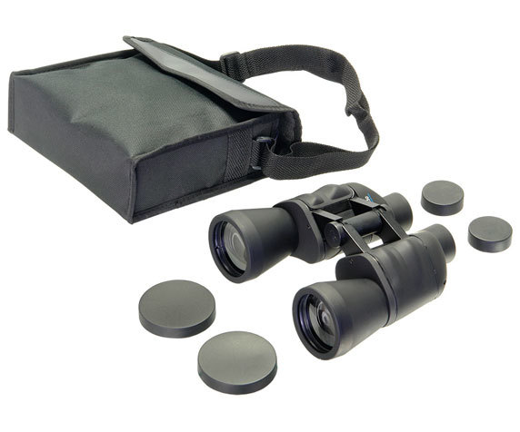 Бинокль Veber Free Focus БПШ 10x50: комплект поставки