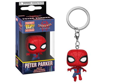 Брелок Человек-Паук. Сквозь Вселенные - Питер Паркер || POP! Keychain Spider-man Into The Spiderverse - Peter Parker
