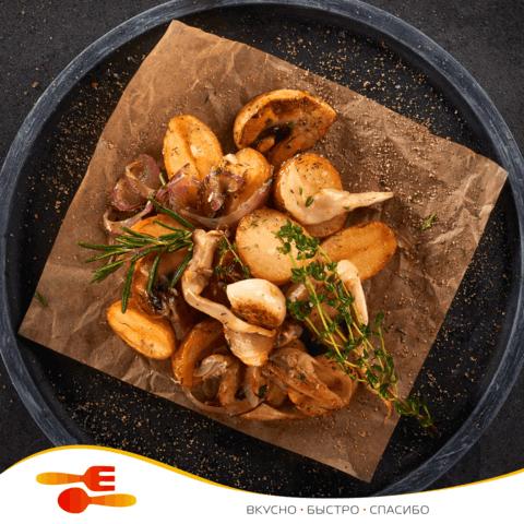 Картошечка с грибами