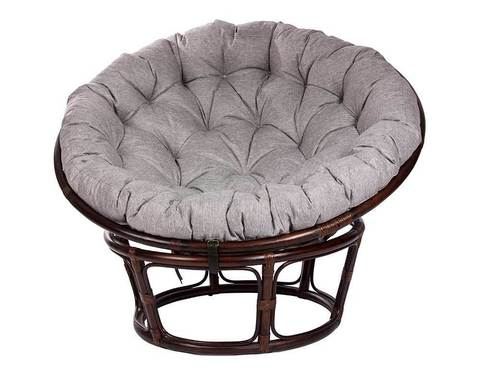 Кресло из ротанга Papasan Chair с подушкой