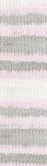 Пряжа Alize Baby Best Batik 6664 серо-розовый