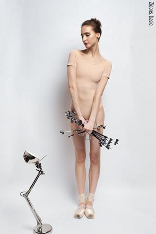T-leotard basic | nude