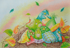 """Сонное царство"" Elina Ellis illustration"