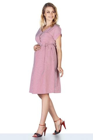 Платье для беременных 10214 красный