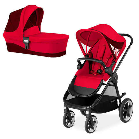 Детская коляска Cybex Balios M 2 в 1  Rebel Red