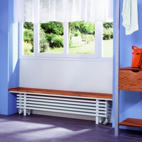Радиатор-скамья Zehnder Bank-Radiator - 136 x 525 x 3000