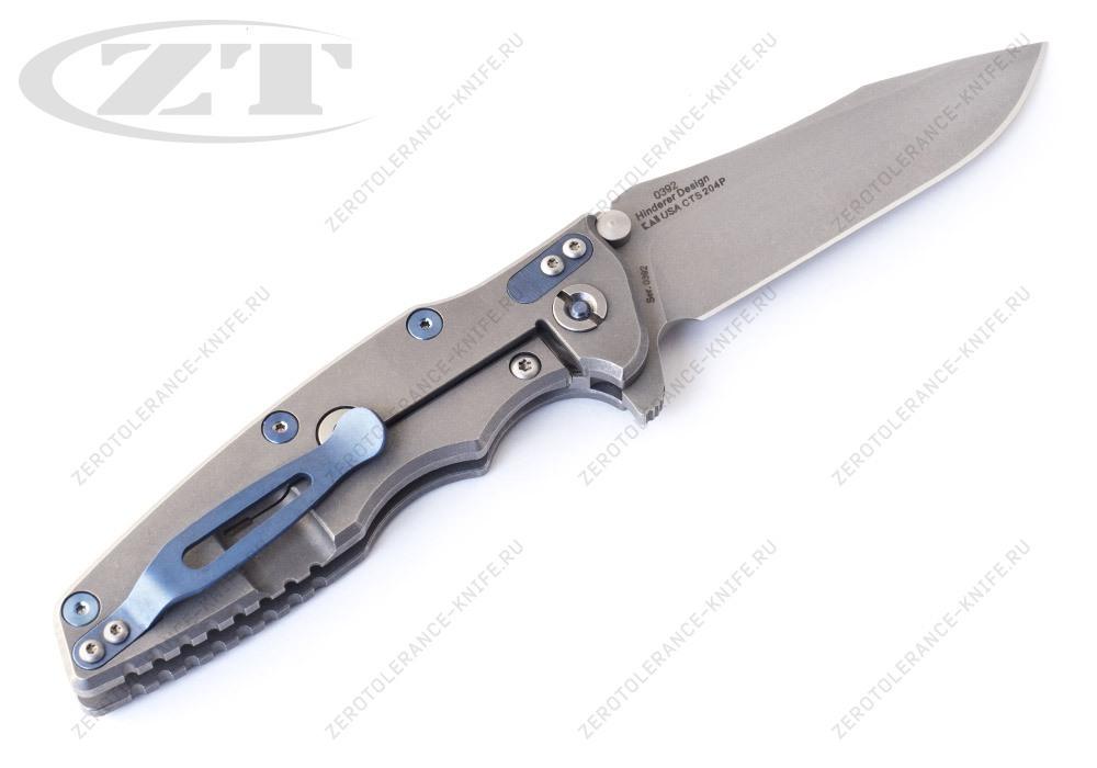 Нож Zero Tolerance 0392 Hinderer - фотография