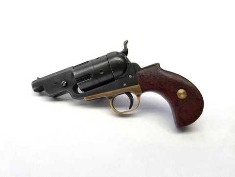 Miniature 2mm pinfire Colt Yank revolver