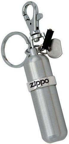 Баллончик для топлива Zippo Canistet, серебристый