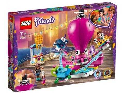 LEGO Friends: Аттракцион Весёлый осьминог 41373 — Funny Octopus Ride — Лего Френдз Друзья Подружки