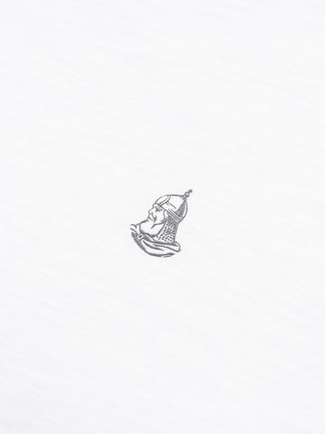 Мужская футболка «Великоросс» белого цвета