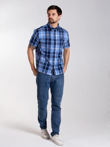 Рубашка к/р муж.  M012-04E-51CR TEXAS