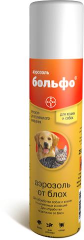 Bayer Больфо Аэрозоль от паразитов 250мл