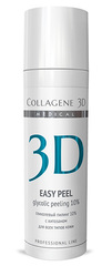 Гель-пилинг EASY PEEL с хитозаном на основе гликолевой кислоты 10% (pH 2,8), Medical Collagene 3D