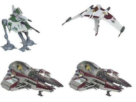 Star Wars Vintage Class II Attack Vehicles Wave 01