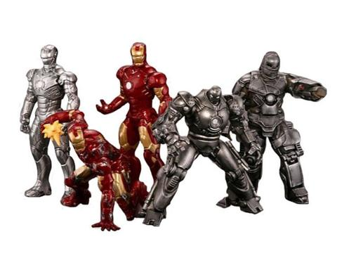 Iron Man Capsule Q Figures Series 01 - Bag of 10