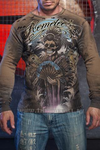 Пуловер Remetee от Affliction Santa Muerte