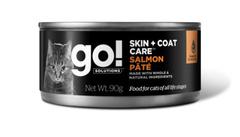 Консервы для кошек всех возрастов, GO! Skin + Coat Care Salmon Pate CF, с лососем