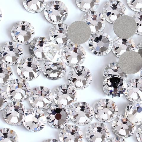 Стразы SS16 прозрачный кристалл 100 шт