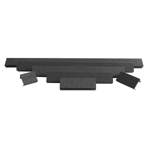 Защитная крышка фары  4 черный ABS пластик ALO-AC4 ALO-AC4  фото-1