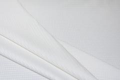 Льняной жаккард, цвет белый