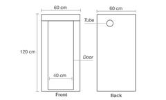 Гроутент Homebox AMBIENT Q60 (60x60x120)