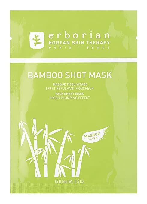 Маска Erborian Bamboo Shot Mask тканевая