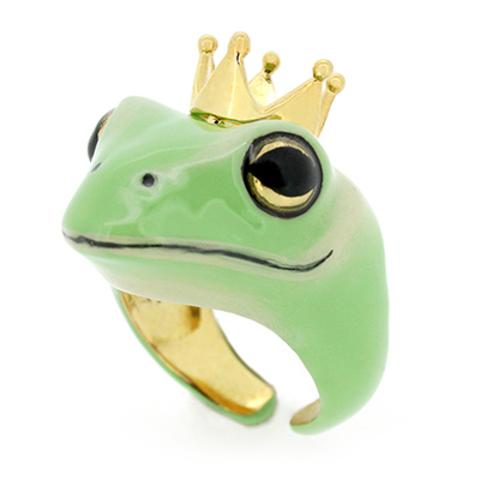 Кольцо Принц лягушка