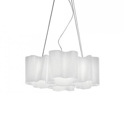 Подвесной светильник копия Logico by Artemide (4 плафона)