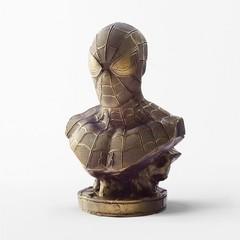 Бронзовый бюст «Человек-паук»
