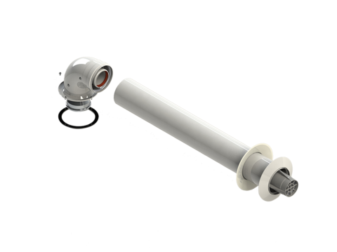 Комплект коаксиальный диам. 60/100L (N) RTF11.006