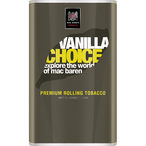 Табак для самокруток Mac Baren Vanilla Choice
