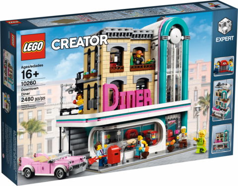 LEGO Creator: Ресторанчик в центре 10260 — Downtown Diner — Лего Креатор Создатель