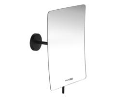 Косметическое зеркало WasserKRAFT NEW K-1001BLACK с 3-х кратным увеличением