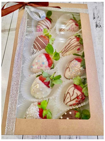 Клубника в Шоколаде, 10 ягод
