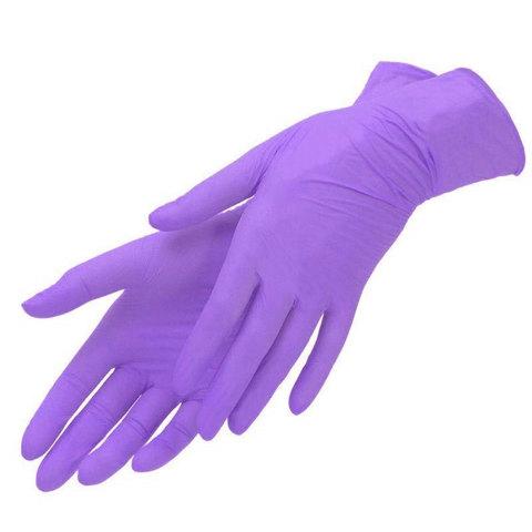 Перчатки нитрил MDC (TN223XL) XL-size фиолетовые 180 пар/уп
