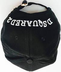Популярные кепки с вышивкой Dsquared2 Icon 03-6794-9931-Black.