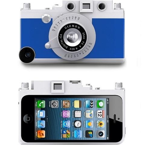 Чехол Gizmon iCA5 Dizzling Blue для IPhone 5/5s