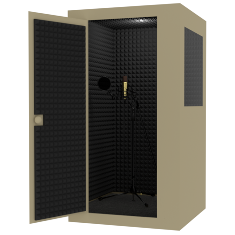 Акустическая кабина 20Дб,  размеры 110 х 110 х 210