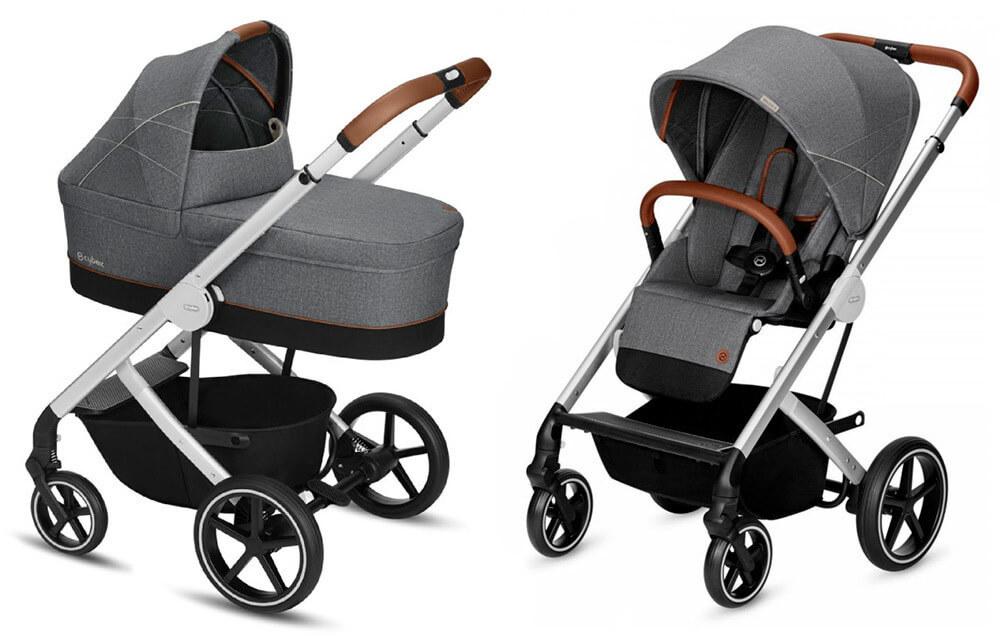 Cybex Balios S 2 в 1, для новорожденных Детская коляска Cybex Balios S 2 в 1 Denim Collection Manhattan Grey cybex-baliuos-s-2-in-1-dc-manhattan-grey.jpg