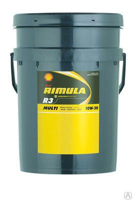 Shell Rimula R3 Multi 10W30  Всесезонное минеральное дизельное масло