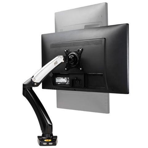 Настольный кронштейн-газлифт NB F100 с 2 USB