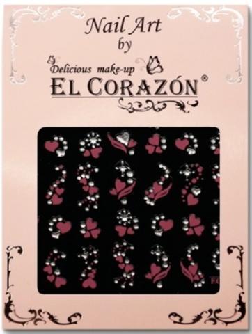 El Corazon Наклейки самоклеящиеся  EC pink ассортимент